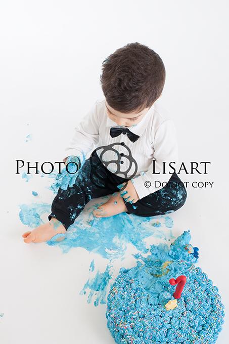 Servizio fotografico smash cake milano