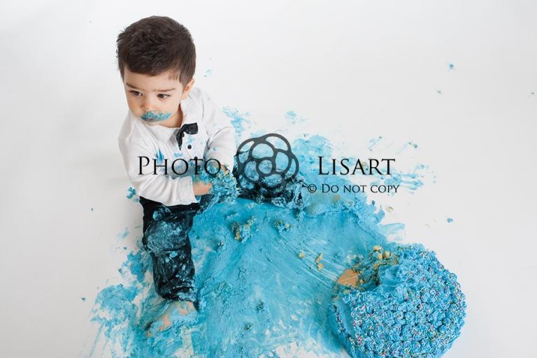 Servizio fotografico smash cake