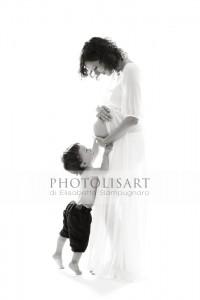 Servizio fotografico gravidanza como