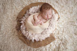 sessione fotografica neonato