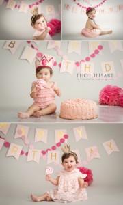 fotografo smask cake primo compleanno