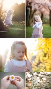 fotografo bambini al parco