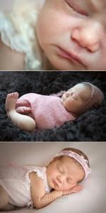 servizio fotografico e dettagli neonato