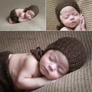 neonato sessione fotografica
