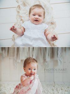 sessione fotografica bebè