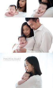 famiglia con neonato milano