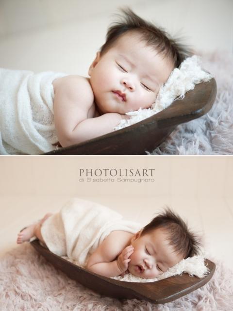 sessione fotografica neonato oldborn milano