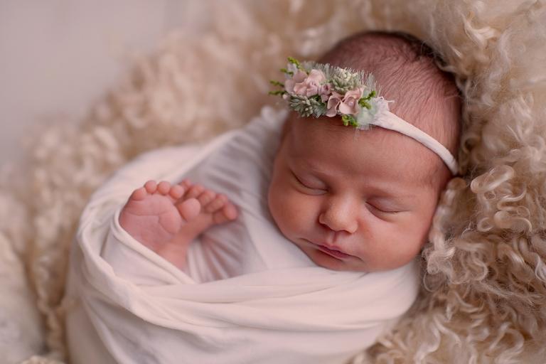 fotografia di neonato milano