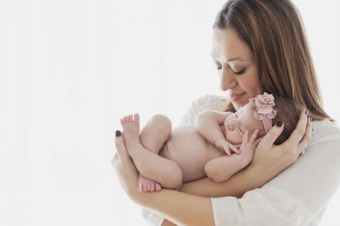 foto neonato milano