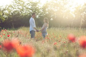 servizio fotografico gravidanza al parco