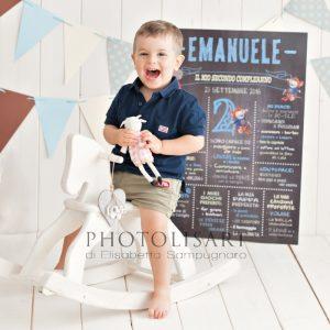 servizio fotografico di bambino