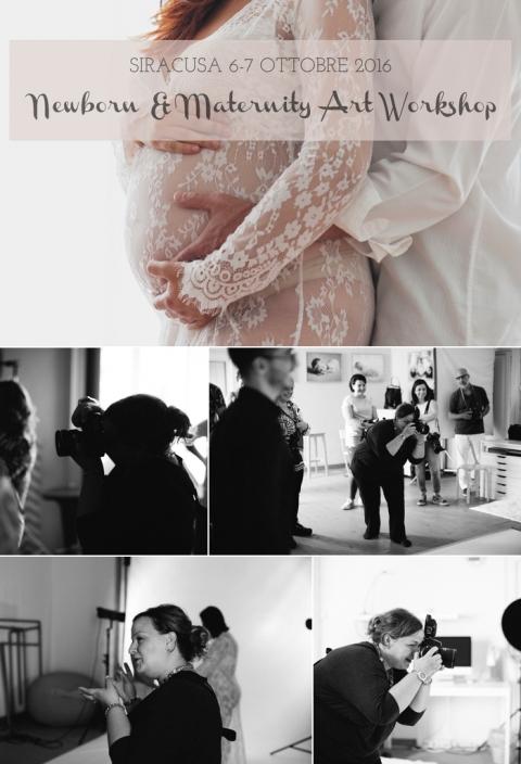 Workshop fotografia newborn neonato Sicilia