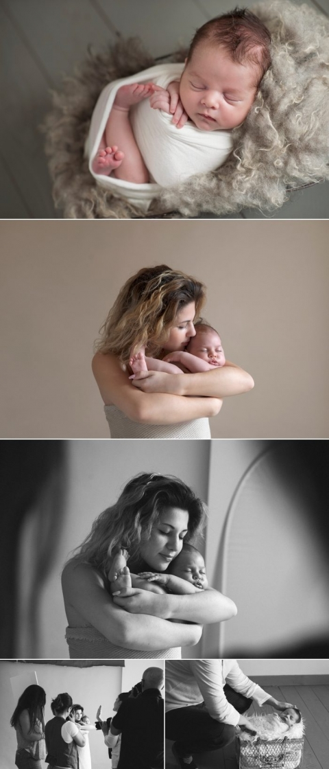 Workshop Mentoring fotografia newborn gravidanza neonati italia milano
