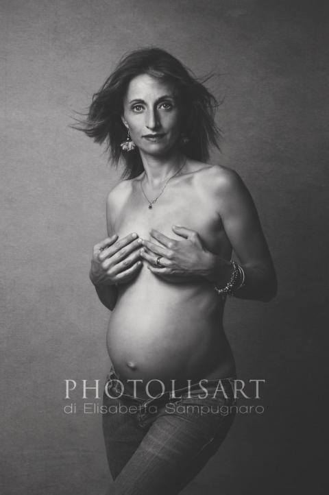 fotografie nudo artistico gravidanza