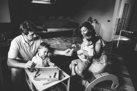 servizio fotografico famiglia lifestyle milano